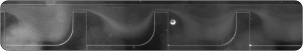 Particle trajectories in geometric singularities